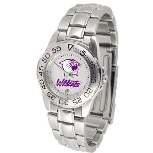 Northwestern Wildcats Ladies Steel Band Sports Watch-Watch-Suntime-Top Notch Gift Shop