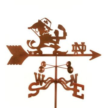Notre Dame University Weathervane-Weathervane-EZ Vane-Top Notch Gift Shop