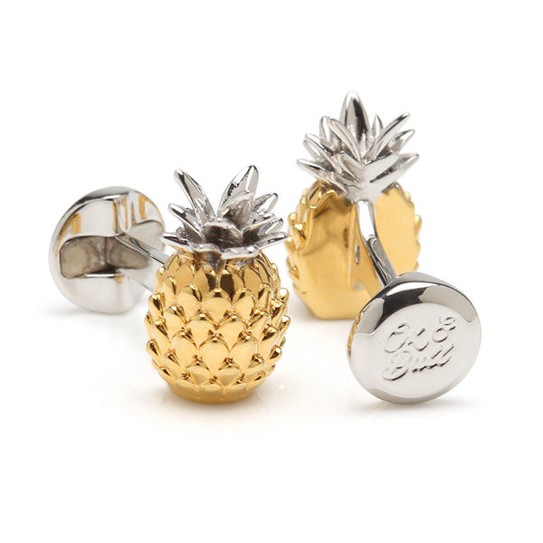 Pineapple 3D Cufflinks-Cufflinks-Cufflinks, Inc.-Top Notch Gift Shop