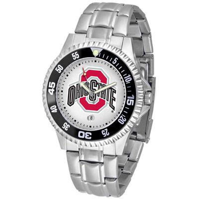 Ohio State Buckeyes Competitor - Steel Band Watch-Watch-Suntime-Top Notch Gift Shop