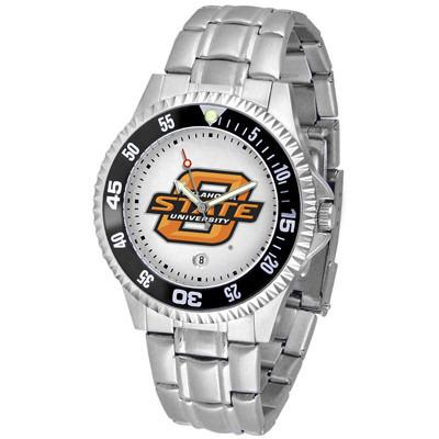 Oklahoma State Cowboys Competitor - Steel Band Watch-Watch-Suntime-Top Notch Gift Shop