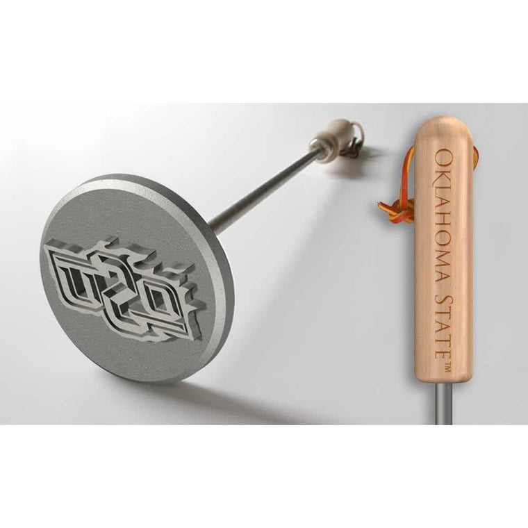 Oklahoma State Steak Branding Irons-Sports Brand-Top Notch Gift Shop