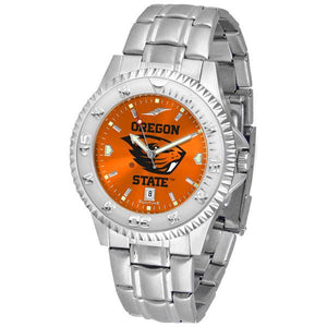 Oregon State Beavers Competitor AnoChrome - Steel Band Watch-Watch-Suntime-Top Notch Gift Shop