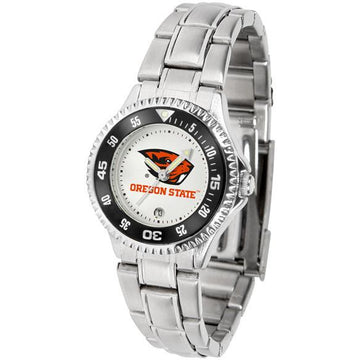 Oregon State Beavers Ladies Competitor Steel Band Watch
