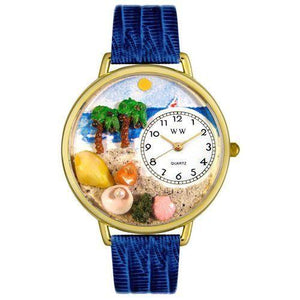 Palm Tree Watch in Gold (Large)-Watch-Whimsical Gifts-Top Notch Gift Shop