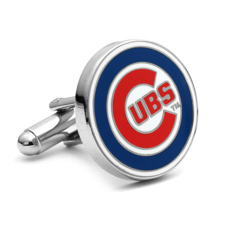 Chicago Cubs Enamel Cufflinks-Cufflinks-Cufflinks, Inc.-Top Notch Gift Shop