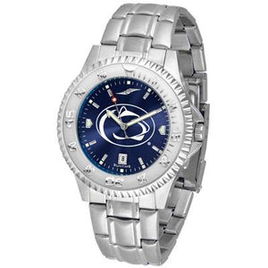 Penn State Nittany Lions Competitor AnoChrome - Steel Band Watch-Watch-Suntime-Top Notch Gift Shop