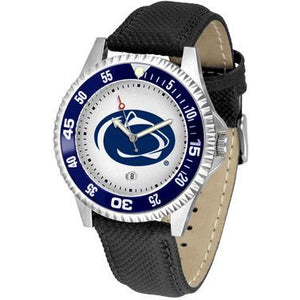 Penn State Nittany Lions Competitor - Poly/Leather Band Watch-Watch-Suntime-Top Notch Gift Shop