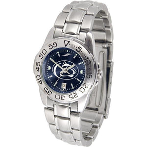 Penn State Nittany Lions Ladies AnoChrome Steel Band Sports Watch-Watch-Suntime-Top Notch Gift Shop