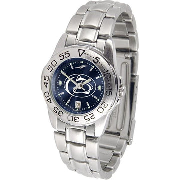 Penn State Nittany Lions Ladies AnoChrome  Steel Band Sports Watch