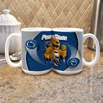 "Penn State University ""Mascot"" Mug -  (Set of 2)"