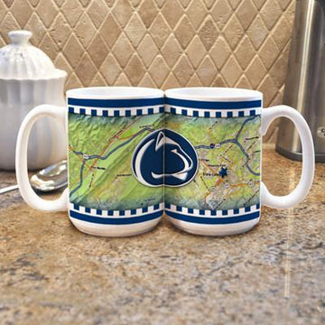 "Penn State University ""Road To"" Mug -  (Set of 2)"