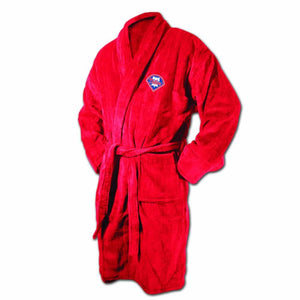 Philadelphia Phillies Red Terrycloth Bathrobe-Bathrobe-Wincraft-Top Notch Gift Shop