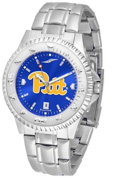 Pittsburgh Panthers Competitor AnoChrome - Steel Band Watch-Watch-Suntime-Top Notch Gift Shop