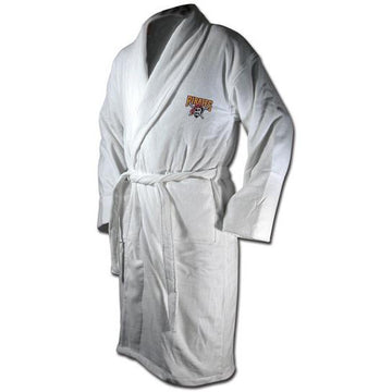 "Pittsburgh Pirates Terrycloth ""Pirate"" Logo Bathrobe - White"