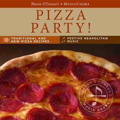 Pizza Party Boxed Set - MusicCooks-Menus and Music-Top Notch Gift Shop