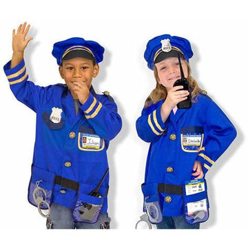 Police Officer Costume Role Play Set
