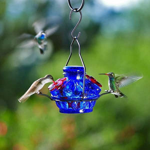 Pot de Creme Moon & Stars Hummingbird Feeder-Bird Feeder-Parasol Gardens-Top Notch Gift Shop