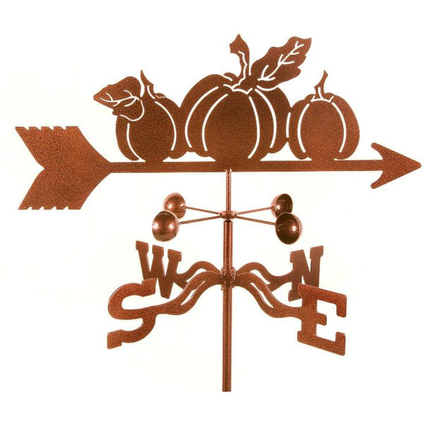 Pumpkins Weathervane-Weathervane-EZ Vane-Top Notch Gift Shop