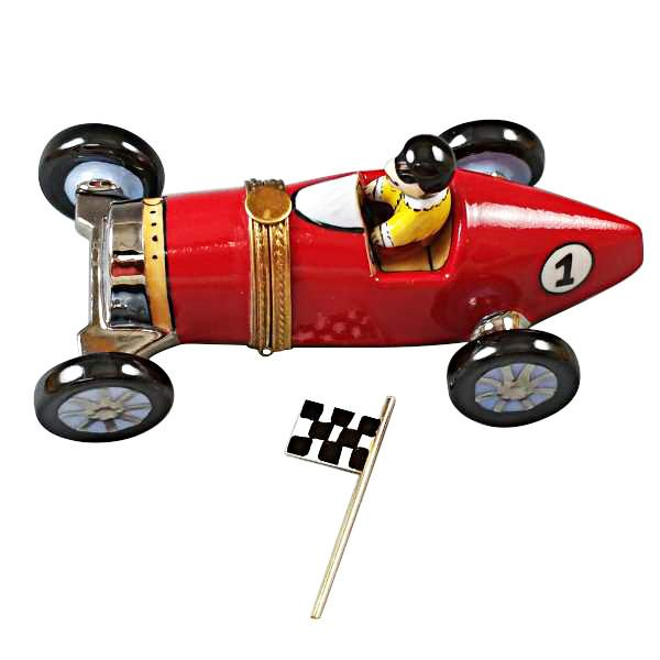 Race Car Limoges Box by Rochard™-Rochard-Top Notch Gift Shop