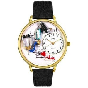 Respiratory Therapist Watch in Gold (Large)-Watch-Whimsical Gifts-Top Notch Gift Shop