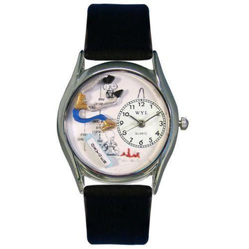 Respiratory Therapist Watch Small Silver Style