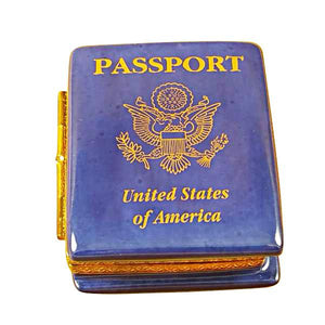 American Passport Limoges Box by Rochard™-Limoges Box-Rochard-Top Notch Gift Shop
