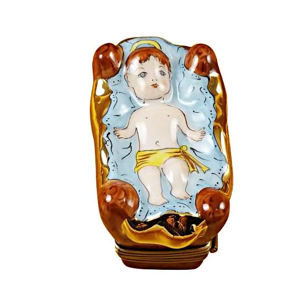 Baby Jesus Limoges Box by Rochard-Limoges Box-Rochard-Top Notch Gift Shop