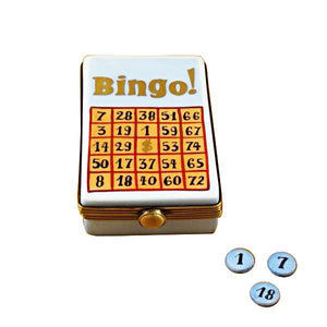 Bingo Game Limoges Box by Rochard™-Limoges Box-Rochard-Top Notch Gift Shop
