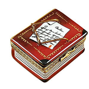 Book with Glasses Limoges Box by Rochard™-Limoges Box-Rochard-Top Notch Gift Shop