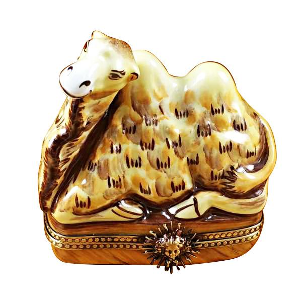 Camel Limoges Box by Rochard-Limoges Box-Rochard-Top Notch Gift Shop