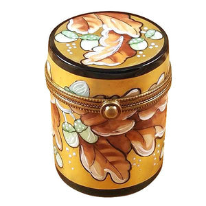 Canister Box October Limoges Box by Rochard™-Limoges Box-Rochard-Top Notch Gift Shop
