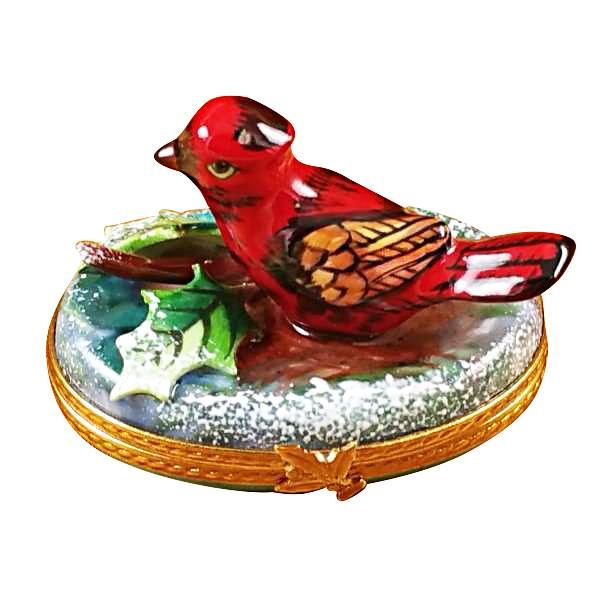 Cardinal Limoges Box by Rochard™-Limoges Box-Rochard-Top Notch Gift Shop