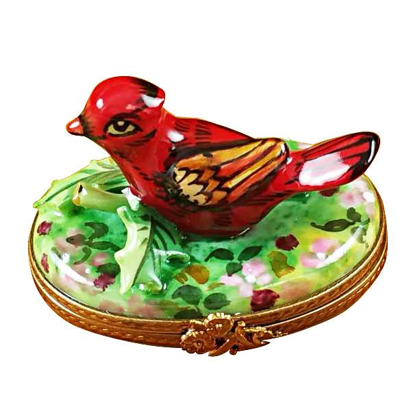 Cardinal - Spring Limoges Box by Rochard™-Rochard-Top Notch Gift Shop