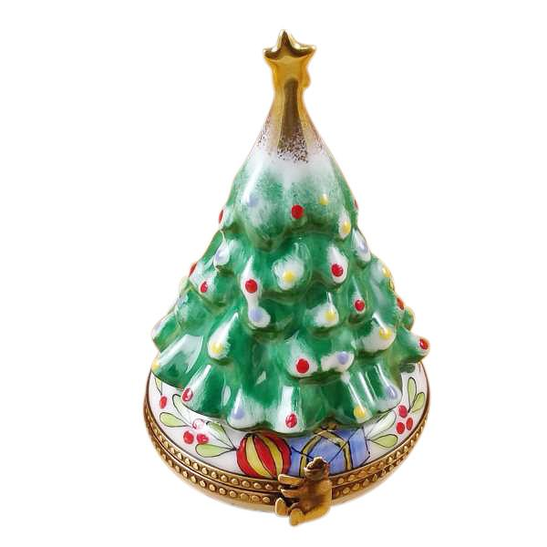 Christmas Tree Limoges Box by Rochard-Limoges Box-Rochard-Top Notch Gift Shop