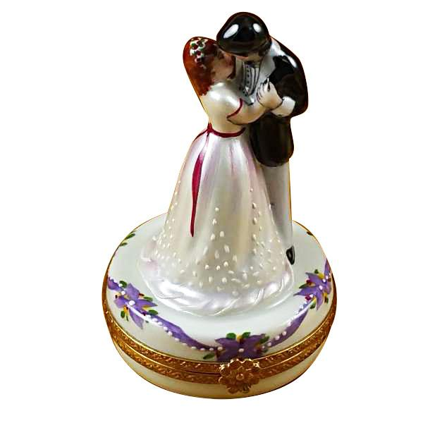 Dancing Bride & Groom Limoges Box-Limoges Box-Rochard-Top Notch Gift Shop