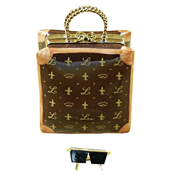Designer Shopping Bag Limoges Box by Rochard™-Limoges Box-Rochard-Top Notch Gift Shop