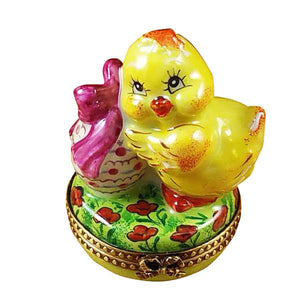 Easter Chick Limoges Box by Rochard™-Limoges Box-Rochard-Top Notch Gift Shop