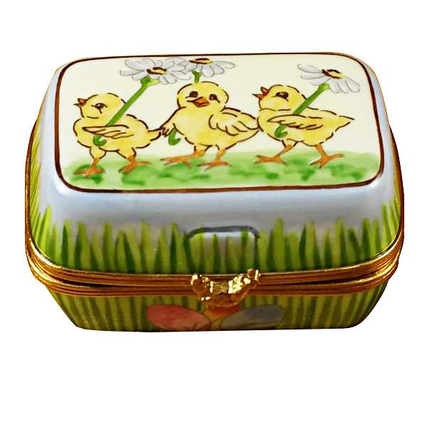 Easter Egg Box with Eggs Limoges Box by Rochard™-Limoges Box-Rochard-Top Notch Gift Shop