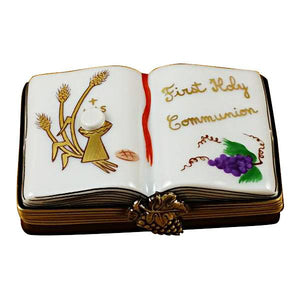 First Holy Communion Book Limoges Box by Rochard™ by Rochard-Limoges Box-Rochard-Top Notch Gift Shop