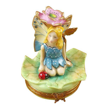 Flower Fairy Pink Limoges Box by Rochard™
