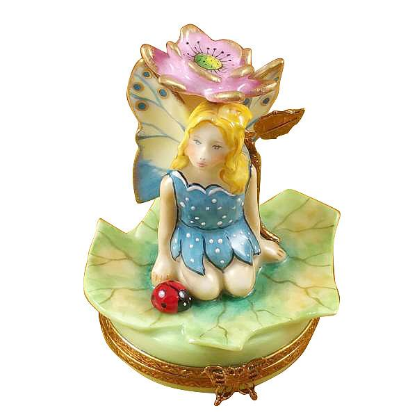 Flower Fairy Pink Limoges Box by Rochard™-Limoges Box-Rochard-Top Notch Gift Shop