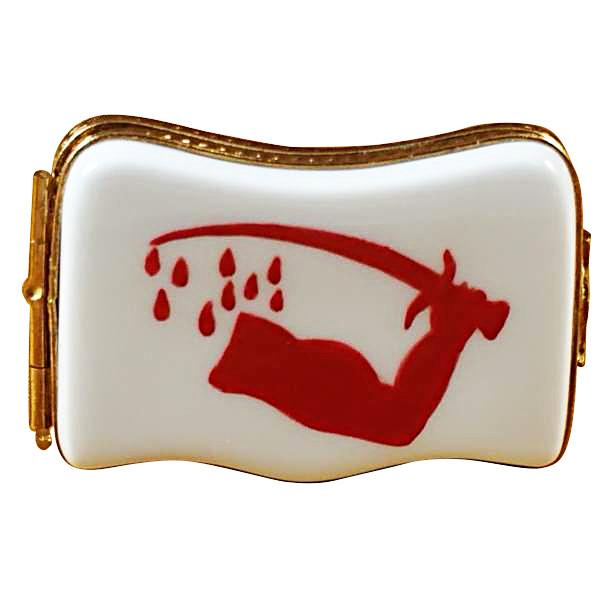 Goliad Flag Limoges Box by Rochard™-Limoges Box-Rochard-Top Notch Gift Shop