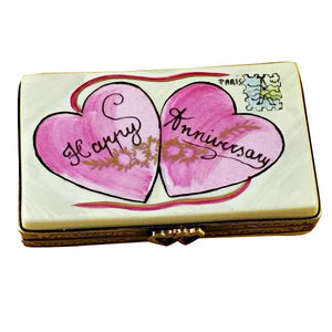 Happy Anniversary Box Limoges Box by Rochard™-Limoges Box-Rochard-Top Notch Gift Shop