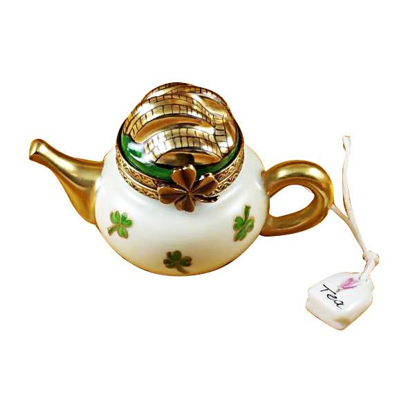 Irish Teapot Limoges Box by Rochard™-Limoges Box-Rochard-Top Notch Gift Shop