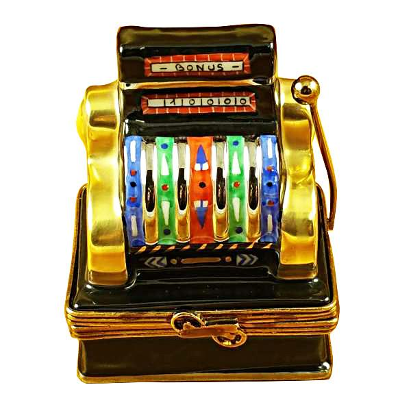 Jackpot Slot Machine Limoges Box by Rochard™-Limoges Box-Rochard-Top Notch Gift Shop