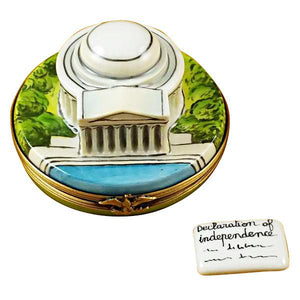 Jefferson Memorial Limoges Box by Rochard™-Limoges Box-Rochard-Top Notch Gift Shop