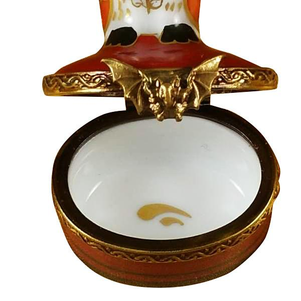 Lady Bug with Book Limoges Box by Rochard-Limoges Box-Rochard-Top Notch Gift Shop
