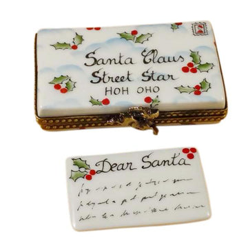 Letter To Santa Limoges Box by Rochard™