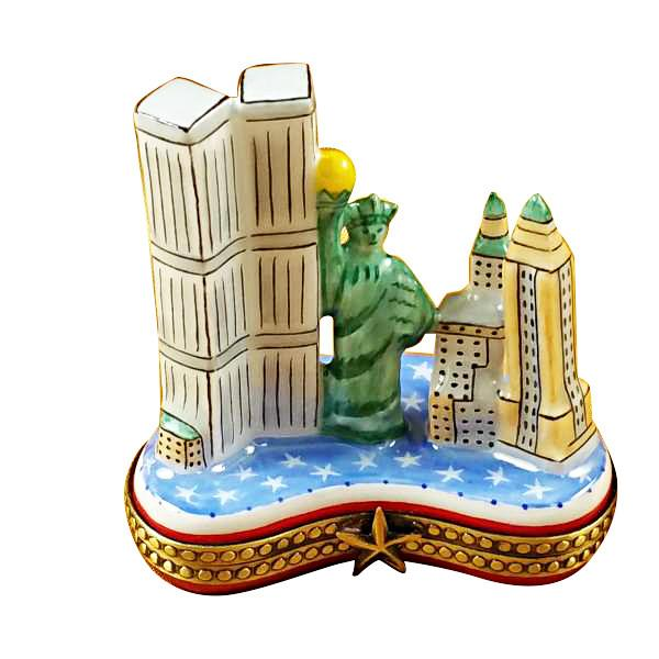 Manhattan Island Limoges Box by Rochard™-Limoges Box-Rochard-Top Notch Gift Shop